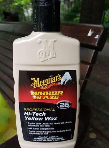 Ceara auto aplicabila Meguiar's Mirror Glaze Hi-Tech Yellow Wax